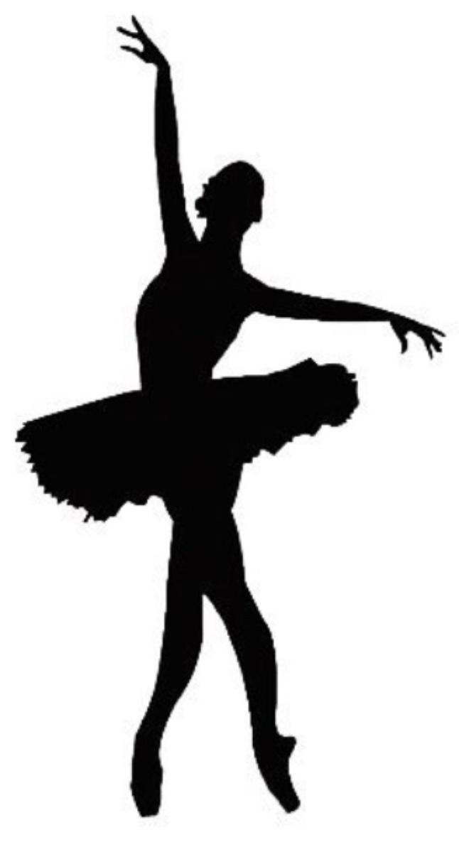 Аккуратно надеваем наши снежинки на балерин вместо пачек, закрепляем клеем, если нужно, и подвешиваем за ниточку.